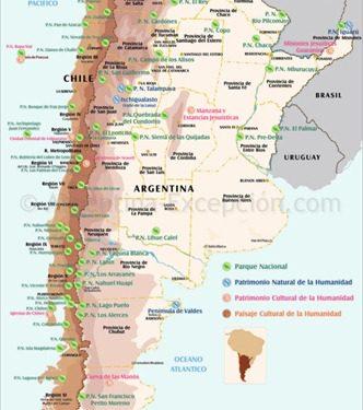 Parchi e riserve naturali argentini, insieme armonico della vita animale e vegetale, del suolo e del sottosuolo.