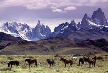 Patagonia, spazi enormi e selvaggi battuti dai venti e la luce intensa.