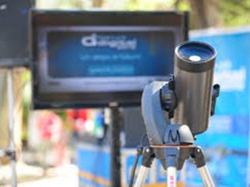 San Luis digitale, L'astronomia tra le opzioni di divertimento.