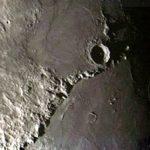 La Luna fotografata da San Luis.