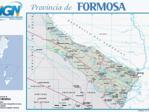 Formosa con il suo nome allude alla bellezza caratteristica da questa regione.